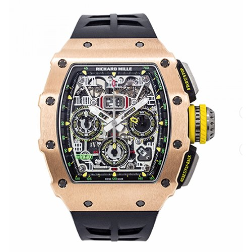 Richard Mille RM 11-03 Flyback Chronograph In Rose Gold And Titanium Watch