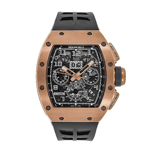 Richard Mille RM 011 Felipe Massa Gold Ivory Chronograph 50mm Watch