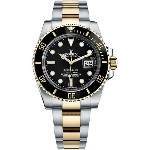 Rolex Submariner Date Black Dial Watch 41mm 126613LN