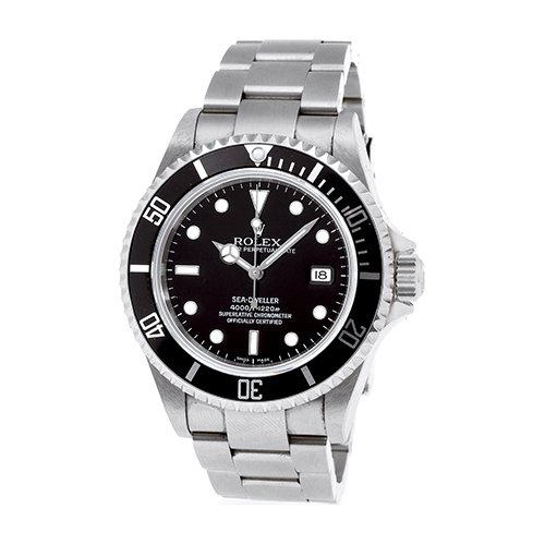 Rolex Sea-Dweller 40mm 16600T Black Dial