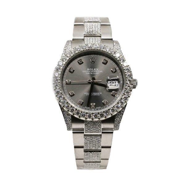 Rolex 126300 Datejust 41mm Diamond