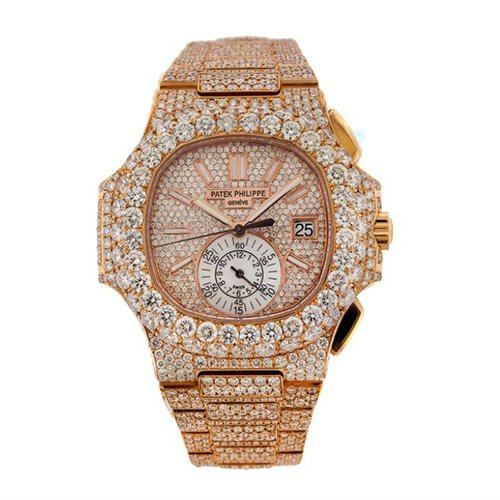 Patek Philippe Nautilus Diamonds Watch 5980/1R