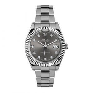 Rolex DATEJUST 126334 41mm Grey Dial Oyster Bracelet Watch