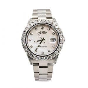Rolex 126300 Datejust Diamonds Watch