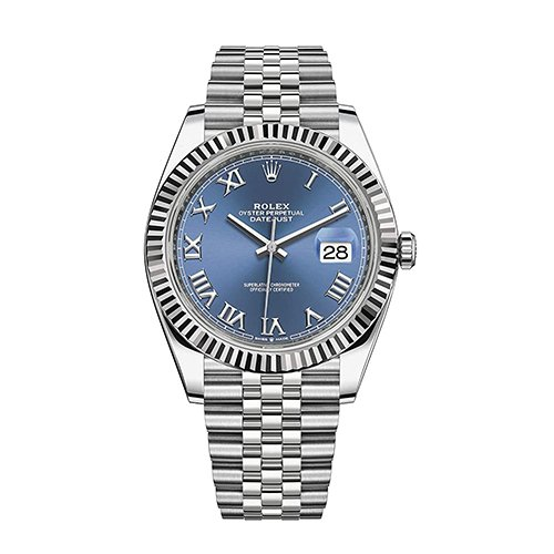 Rolex 126334 Datejust Blue Dial Jubilee Bracelet