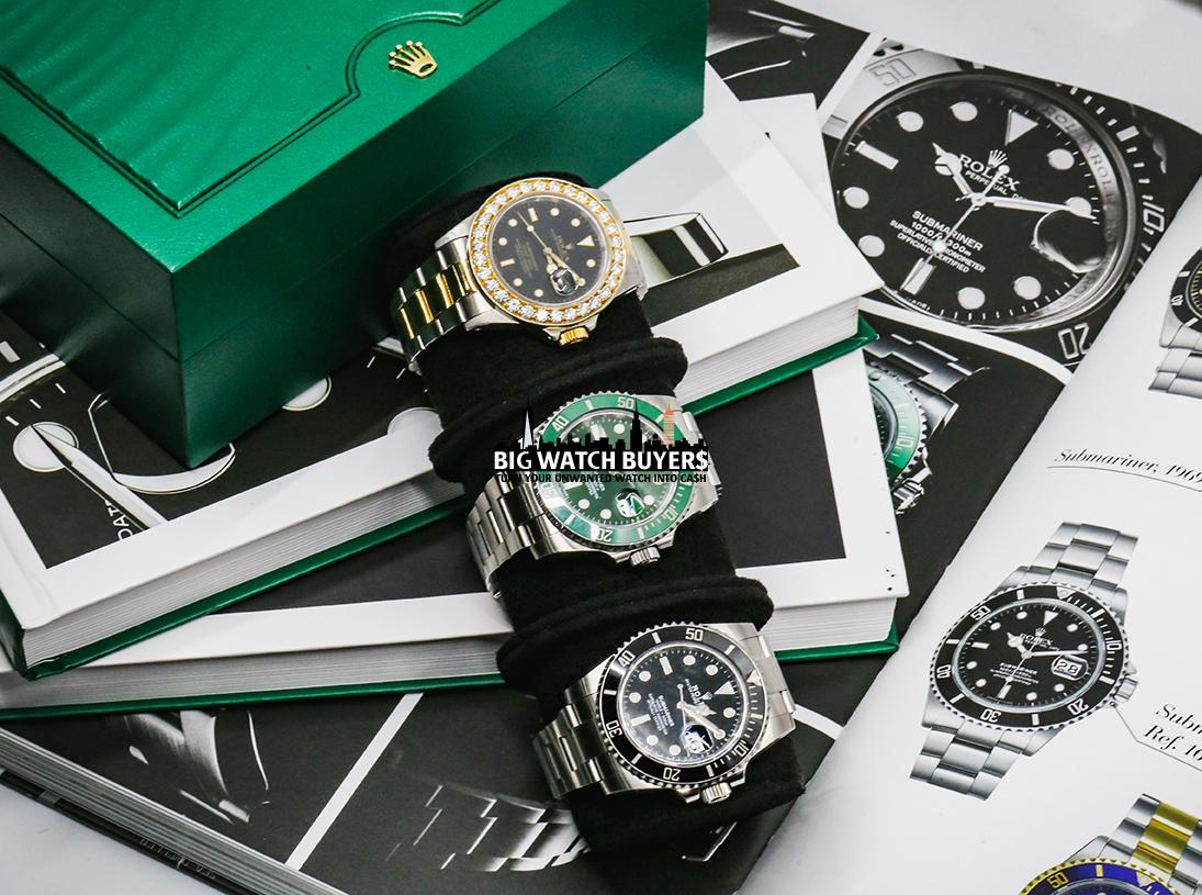 Rolex Submariner History by Big Watch Buyers
