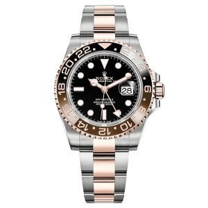 Rolex GMT-Master II Root Beer 126711CHNR Everose Gold Automatic Watch