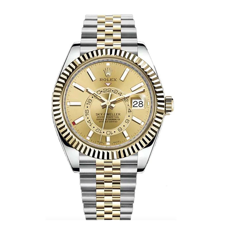 Rolex 326933 Sky-Dweller 2021 Champagne Dial Watch