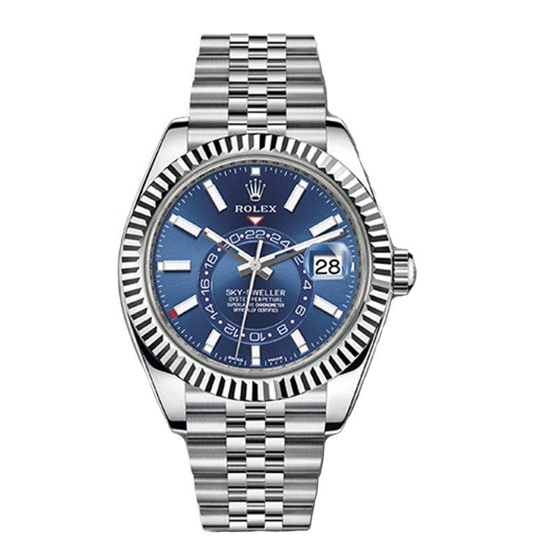 Rolex 326934 2021 Sky-Dweller Blue Dial Watch