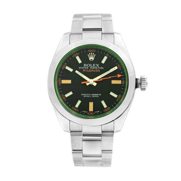 Rolex 116400GV Milgauss Black Dial Watch