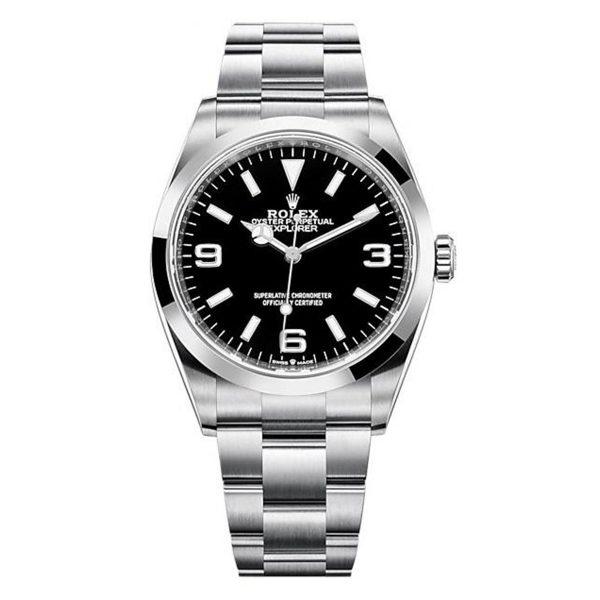 Rolex 124270 Explorer Black Dial Watch