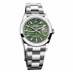 Rolex 126200 Datejust 36 Green Dial Watch