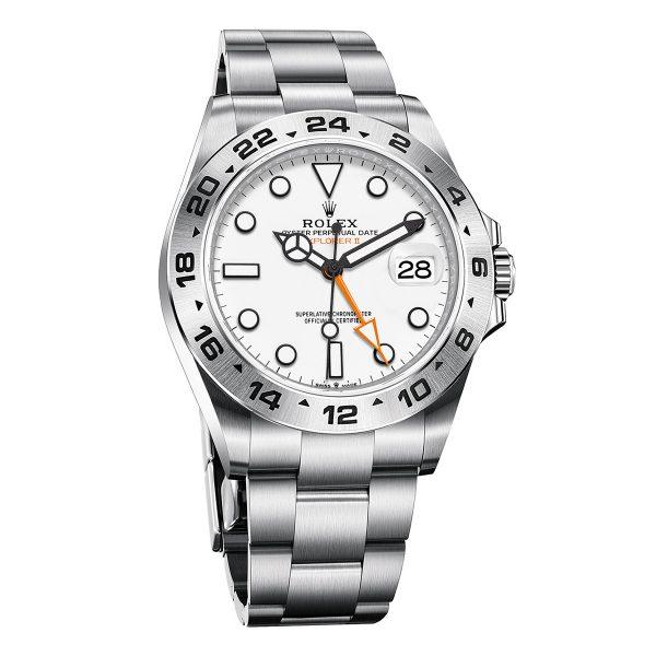 Rolex 226570 Explorer II White Dial Watch