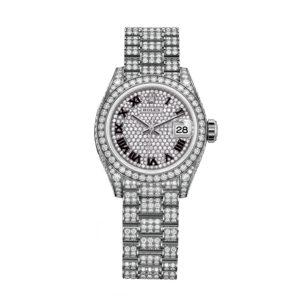 Rolex 279459RBR 18 CT White Gold & Diamonds Watch