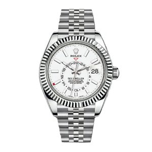 Rolex 326934 Sky-Dweller Automatic White Dial Watch