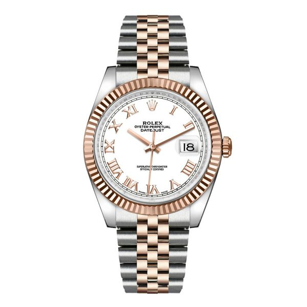 Rolex 116231 Datejust 36mm White Dial
