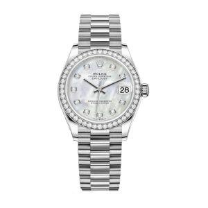 Rolex 278289rbr Datejust Diamond Bezel