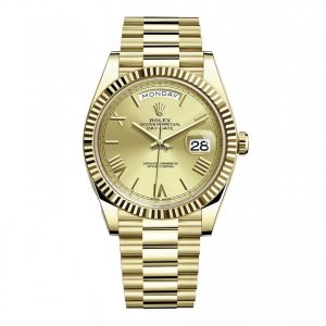 Rolex 228238 Day-Date 40mm Champagne Dial