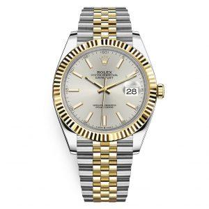 Rolex 126333 Datejust Silver Index Jubilee Watch
