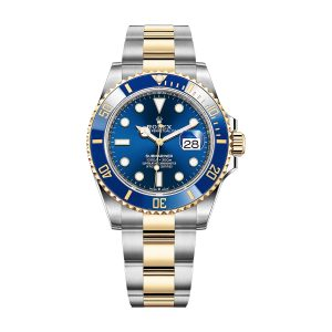 Rolex 126613LB Submariner Two Tone Oyster Bracelet Blue Dial Watch